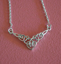 Infinity Celtic Knot Necklace - 925 Sterling Silver Irish Celtic Knot Necklace
