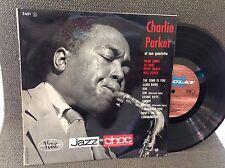 """LP 25 cm-10"""" CHARLIE PARKER ET SON QUARTETTE - BARCLAY 3651 -FRENCH PRESS STEREO"""