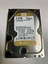 """WESTERN DIGITAL WD2005FBYZ WD GOLD 2TB 7200RPM, 6GB/S 128MB 3.5"""" datecenter"""