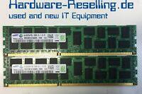 16GB Kit Samsung 2x 8GB DDR3-10600R PC3L ECC RAM M393B1K70DH0-YH9 1221