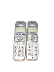 Lot Of 2 Panasonic KX-TGA470S Cordless Expansion Handset Phones Replacement