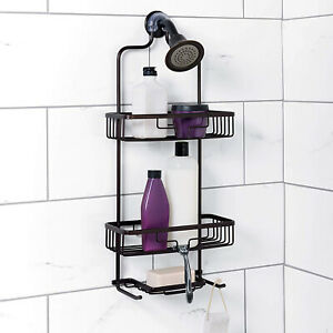 Home NeverRust Hanging Aluminum Shower Caddy,Bathroom Shelf Storage Organiser