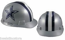 "MSA V-Gard Cap Type Dallas Cowboys NFL Hard Hat ""RATCHET"" Suspension"