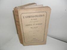 Caillet L'Administration en France sous le Ministère du Cardinal Richelieu, 1860
