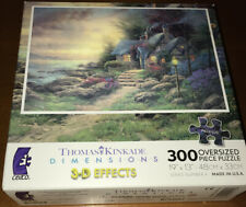 Thomas Kinkade Dimensions 3-D Effects Seaside Highway 300 Ceaco FREE SHIPPING