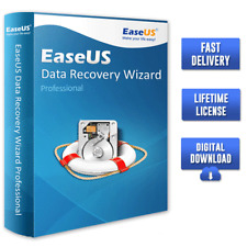 EaseUS Data Recovery Wizard v13.5 🔐Professional Lifetime License ✅Fast Delivery