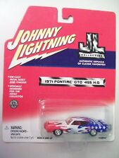 Johnny Lightning 1:64 scale 1971 Pontiac GTO 455 HO, JL Collection series