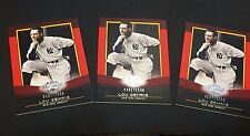 LOU GEHRIG 2011 Topps Triple Threads LOT of ( 3 ) Cards #4 Each #d /1500 YANKEES