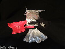Gene Doll - Rehearsal Outfits w/bag, headbands, shorts and shirts!