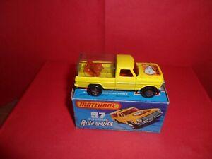 Matchbox Rola-Matics #57-Wild Life Truck,Nr Mint In Near Mint Orig Box,1973/76.