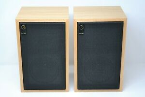 Graham Audio Chartwell BBC LS3/5A loudspeakers in Oak. Worldwide shipping.