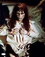 LINDA BLAIR Signed THE EXORCIST 11x14 Photo IN PERSON Autograph JSA COA