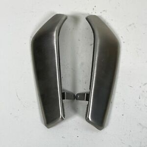 Ducati Monster 1200 1200S R OEM Left Right Aluminum Radiator Side Covers Guards