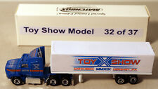DTE 2019 HERSHEY MATCHBOX 10TH TOY SHOW BLUE FORD AEROMAX CONVOY TRUCK 1 OF 15