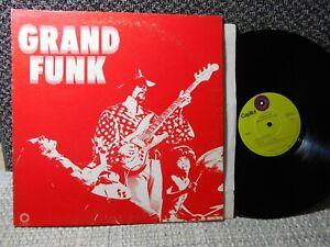 Grand Funk Railroad ex record green label GF LP same self title - Paranoid