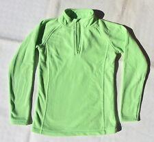 Sweat-Shirt Polaire Vert anis 11-12 ans