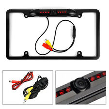 Cache Night Vision Car License Plate Rearview Camera - Black