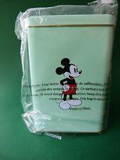 Boîte métalique verte Mickey - Monnaie de Paris - Epuisé - Walt Disney - Neuve