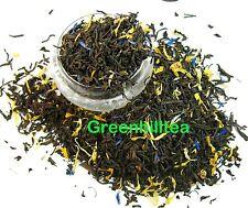 Blue lady natural flavored black tea loose leaf tea 1/2 LB bag