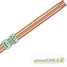 Sommer Cable SC twincord SPK 2x 6,0mm ² Ofc Cable de altavoz 400-0600