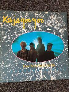 """KAJAGOOGOO - TURN YOUR BACK ON ME 12"""" VINYL"""