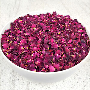 Edible Rose Petals - Tea, Tincture, Infusion, Cake Decor, Cooking, Dried Flowers
