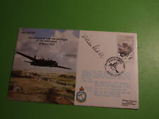 "Bomber Serie Raf B21 cubierta firmado William ""Factura"" Reid Vc"