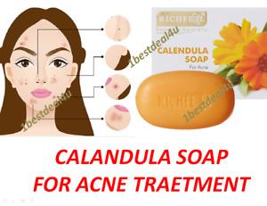 (PACK OF 2) Richfeel Calendula Soap for Acne, 75g