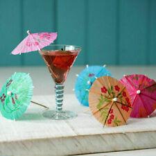 30 x Cocktail Umbrellas Party Drink Decoration Umbrella Birthday Wedding Novelty