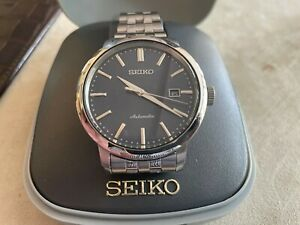 SEIKO 'Presage' 42mm blue dial automatic watch