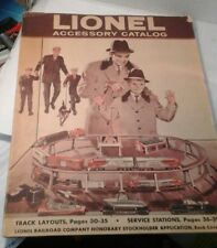 Rare Canadian Lionel inside  store Catalog copyright 1960,39 pages