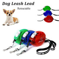 2.5 M Pet Dog Retractable Lead Extending Small Dog Puppy Walking Leash Chihuahua