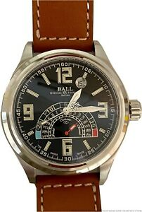 Ball Watch Trainmaster TMT 41 mm NT1050D-LAJ-BK Preowned MSRP 2,899