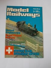 Model Railways Magazine Vol 8 February 1980.