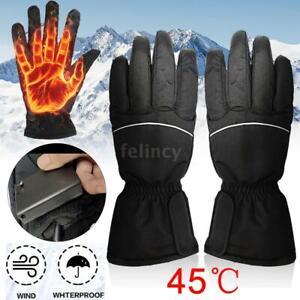 Beheizte Handschuhe Wasserdicht Winterhandschuhe Elektrische Heizhandschuhe T2Y2
