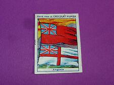 ETENDARDS DRAPEAUX ETRANGERS ANGLAIS CHROMO CHOCOLAT PUPIER JOLIES IMAGES 1930