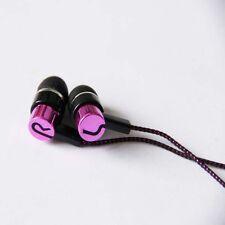 IN EAR EARPHONES HEADPHONE METAL BRAIDED NOISE ISOLATING EARPHONE MP3 4 5 EP02
