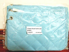 Grandinroad Light Blue Quilted Travel Accessory Bags, New in Package