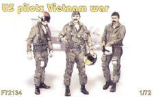 Czech Master 1/72 US Pilotes Vietnam X 3 tous debout # F72134