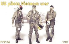 Czech Master 1/72 US Piloti Vietnam x 3 tutti in piedi # F72134
