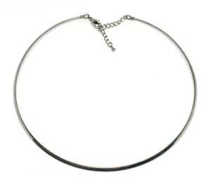 stainless steel neckwire necklace choker base with extender
