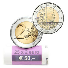 Rouleau  Roll 2014 – Luxembourg – 25 x 2 Euro - 175 ans Indépendance Luxembourg