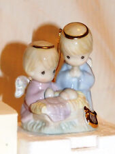 Vintage 1997 Avon Christmas Xmas Precious Moments Porcelain Ornament 22kt Gold
