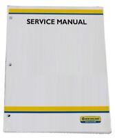 New Holland 555E 575E 655E 675E Tractor Service Repair Manual