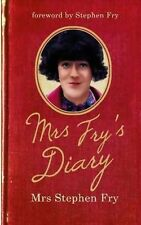 MRS FRY'S DIARY - MRS STEPHEN FRY - BRAND NEW SOFTCOVER