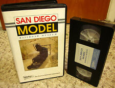 SAN DIEGO MODEL RAILROAD MUSEUM trains HO model locomotives VHS documentary 1992