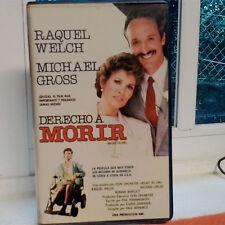 DERECHO A MORIR (Paul Wendros) VHS . Raquel Welch Michael Gross  Bonnie Bartlett