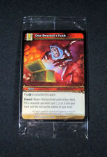 World of Warcraft WoW TCG One Dranei's Junk Foil w/Random UDE Point Crafting