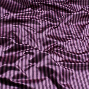 Stoff Seide Satin Römerstreifen pink violett blickdicht schöner Stand