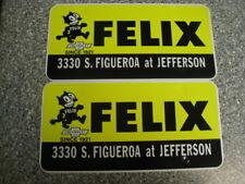 Felix Chevrolet License Plate Frame  Board inserts, Pair, Unused